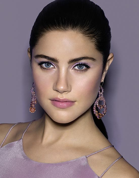 bobbi-brown-lilac-rose-collection-model