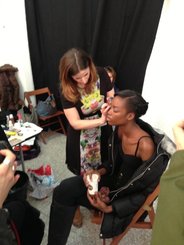 Key make-up artist alla Fashion Week... che emozione!