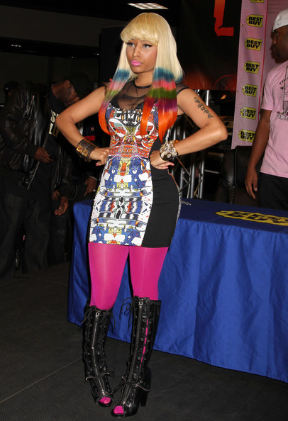 Nicki+Minaj+Dresses+Skirts+Print+Dress+mE__KN-1ucnl