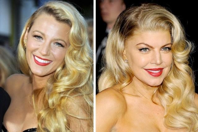 Bionde: Blake Lively e Fergie