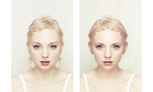 Oltre alla bocca spesso si modifica anche la forma del viso e l'espressione intera della faccia!