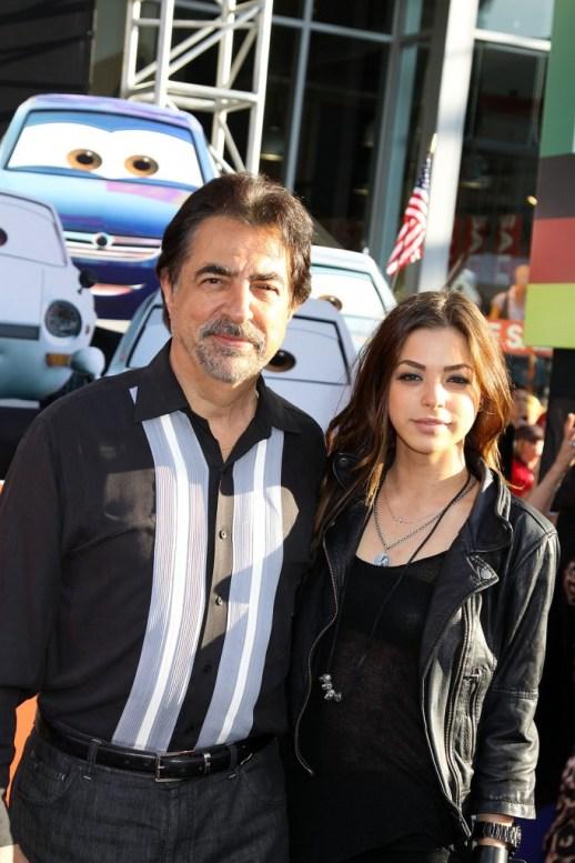 Joe Mantegna and daughter Gia