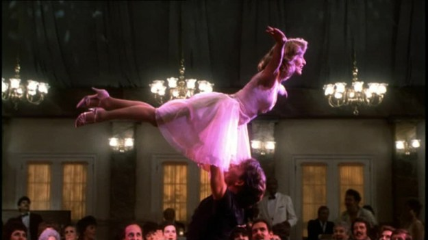 e l'eterno romanticismo di DIRTY DANCING!! <3