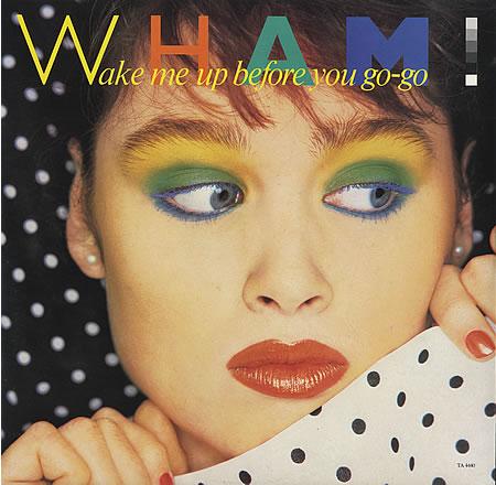 la copertina 'super-makeupposa' degli WHAM! :D