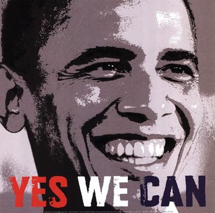 la frase simbolo dell'ideale di Barack Obama, divenuto il suo slogan durante le elezioni presidenziali