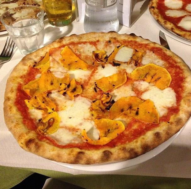 Aaaah la pizza alla zucca!!