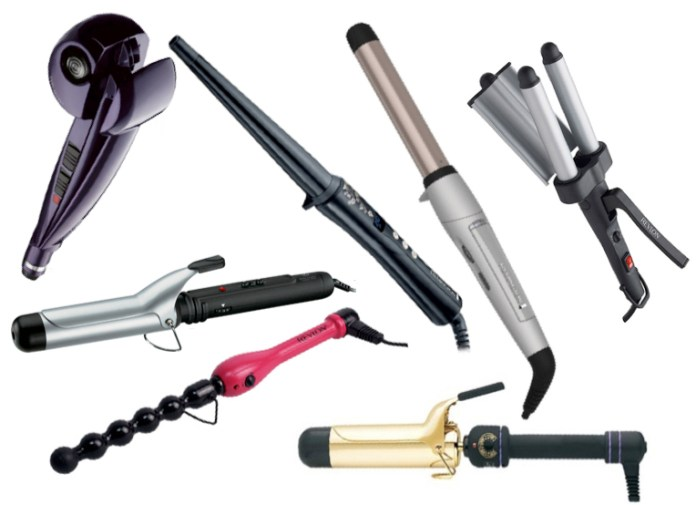 curling wands