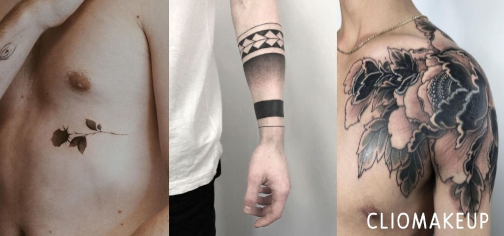 Cartina Mondo Tatuaggio.Tatuaggi Uomo Piccoli E Non I Piu Belli Per Braccia Pettorali E Spalla