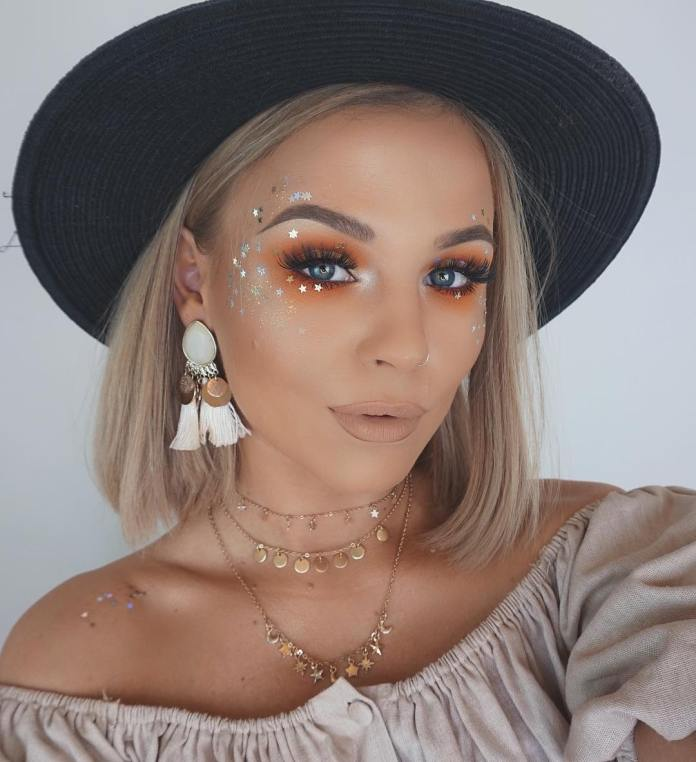 cliomakeup-ricreare-makeup-coachella-2-glitter-mania