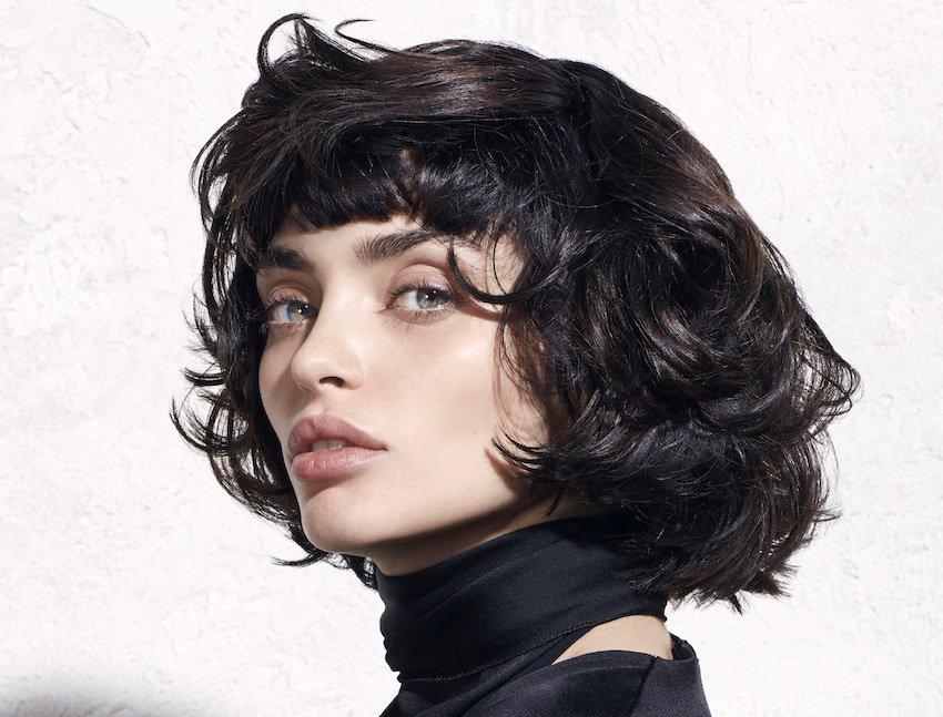 Taglio capelli viso magro e allungato