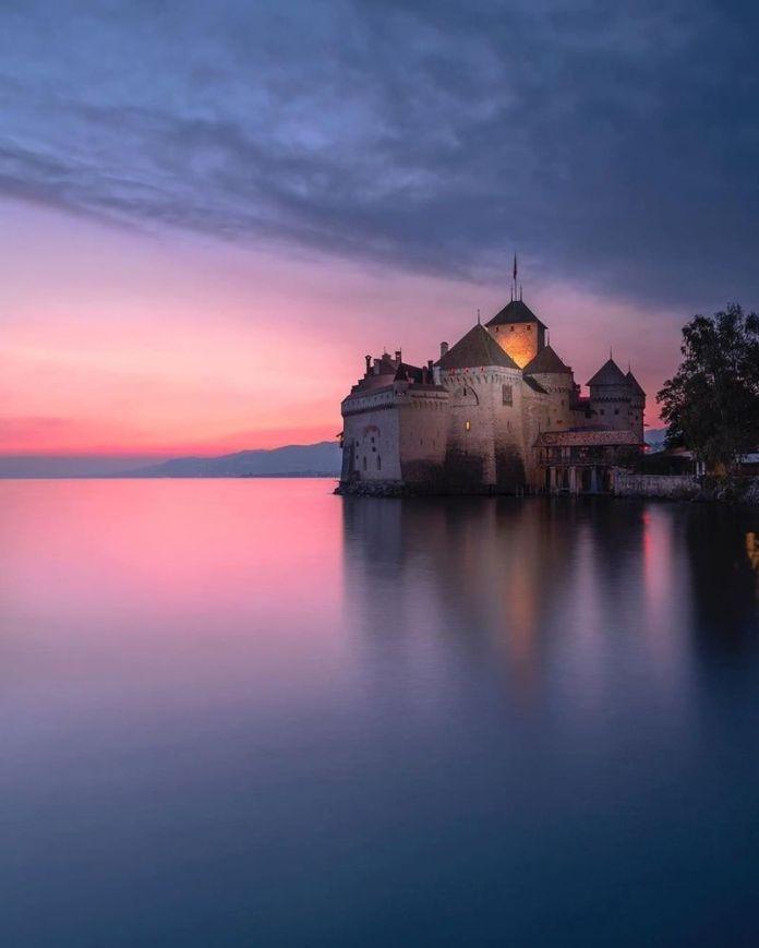 viaggio in svizzera: castello di chillon