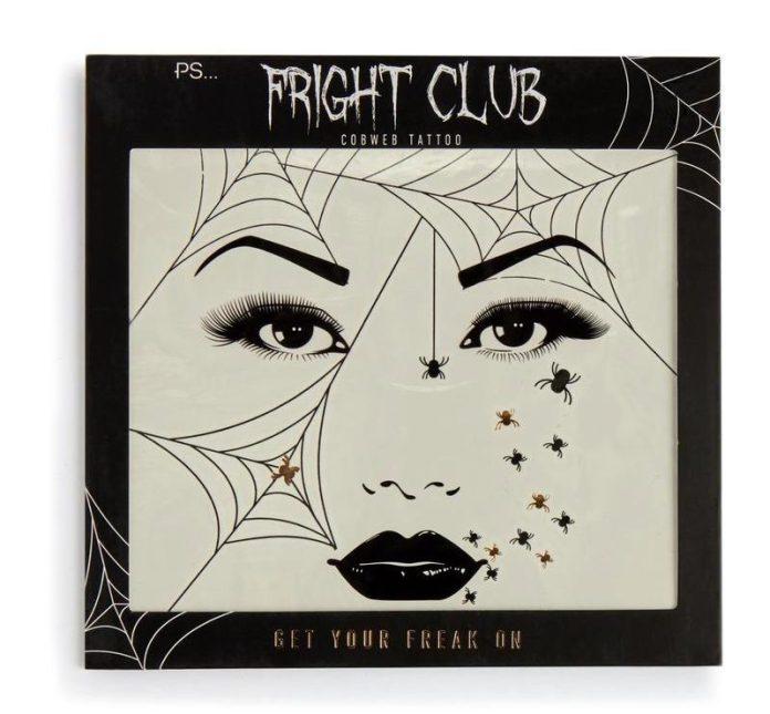 Halloween collezioni trucco: adesivi viso PS Fright Club Primark