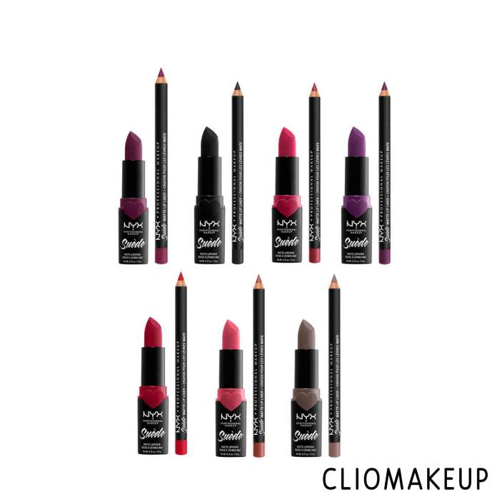 cliomakeup-recensione-rossetto-e-matita-nyx-love-lust-disco-suede-matte-lip-kit-3