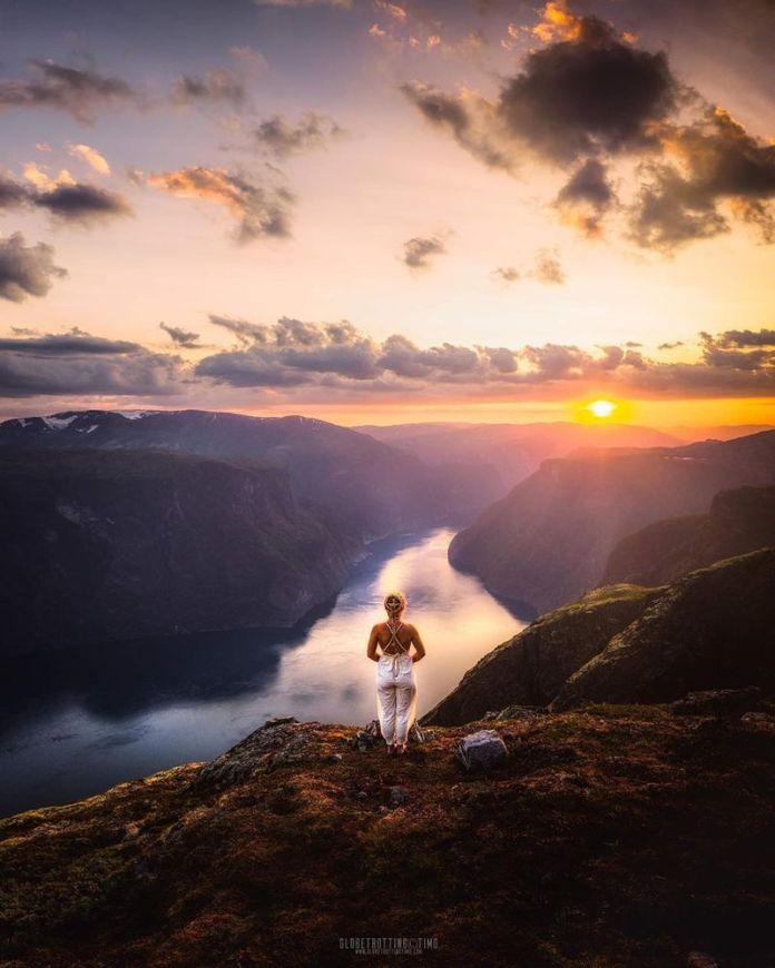 fiordi norvegesi: sognefjord