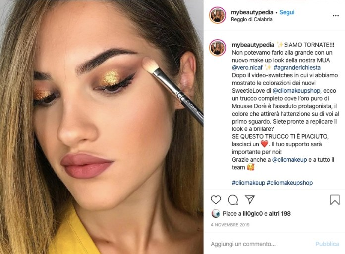 Cliomakeup-make-up-occhi-luminosi-8-sweetielove-mousse-dore