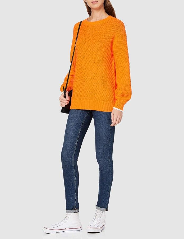 Cliomakeup-look-colori-autunnali-11-felpa-arancione