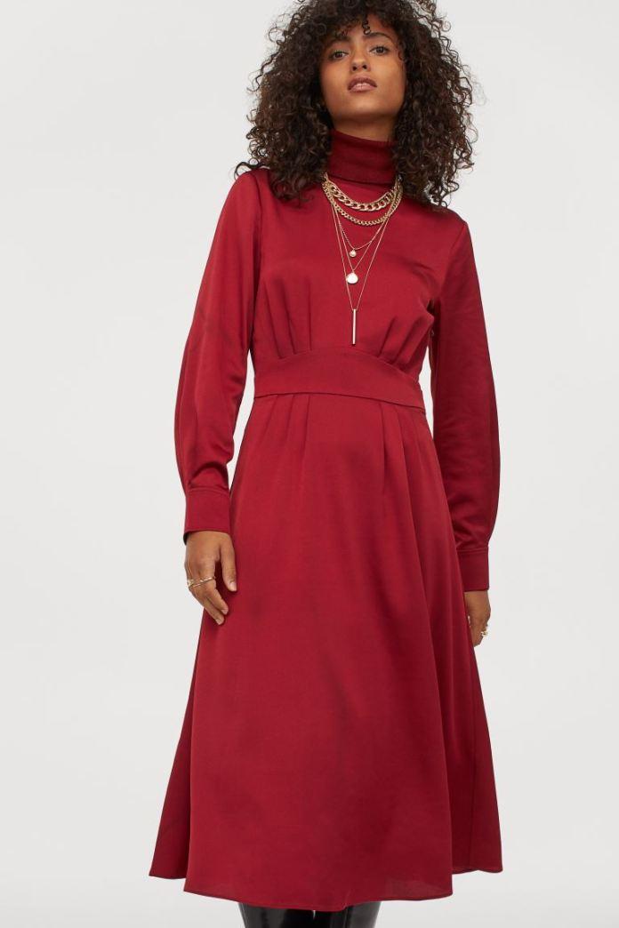 Cliomakeup-look-colori-autunnali-5-hm-vestito-rosso