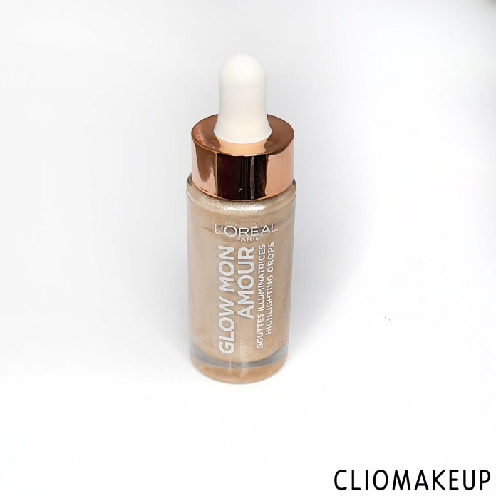 cliomakeup-recensione-illuminante-l-oreal-glow-mon-amour-highlighting-drops-3