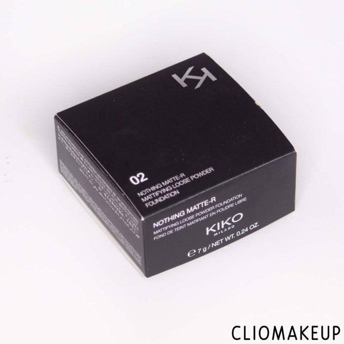 cliomakeup-recensione-kiko-nothing-matte-r-mattifying-loose-powder-foundation-2