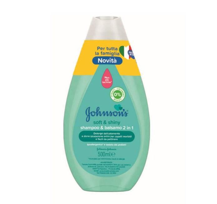 cliomakeup-prodotti-beauty-luglio-2021-johnsons-Shampoo-Balsamo-2in1