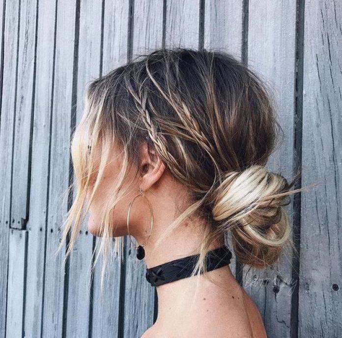 Climakeup-cord-knot-bun-con-trecce