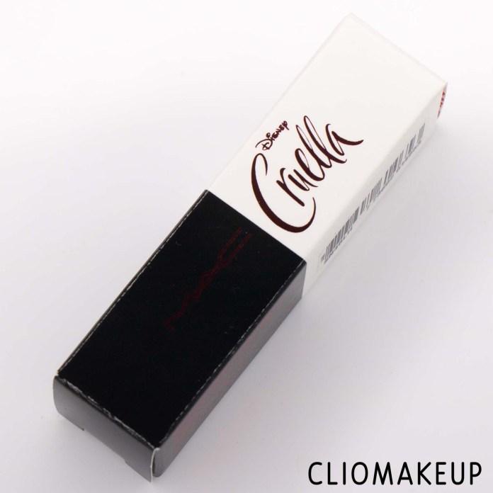 Cliomakeup-Recensione-rossetto-MAC-The-Disney-Cruella-Collection-Matte-Lipstick-2