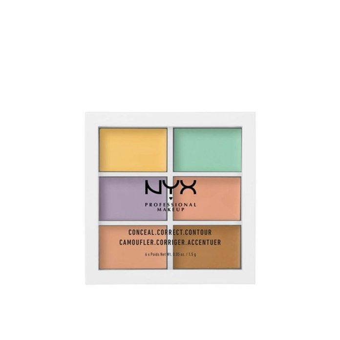 Cliomakeup-trucco-occhi-stanchi-NYX-Professional-Makeup-3C-Palette