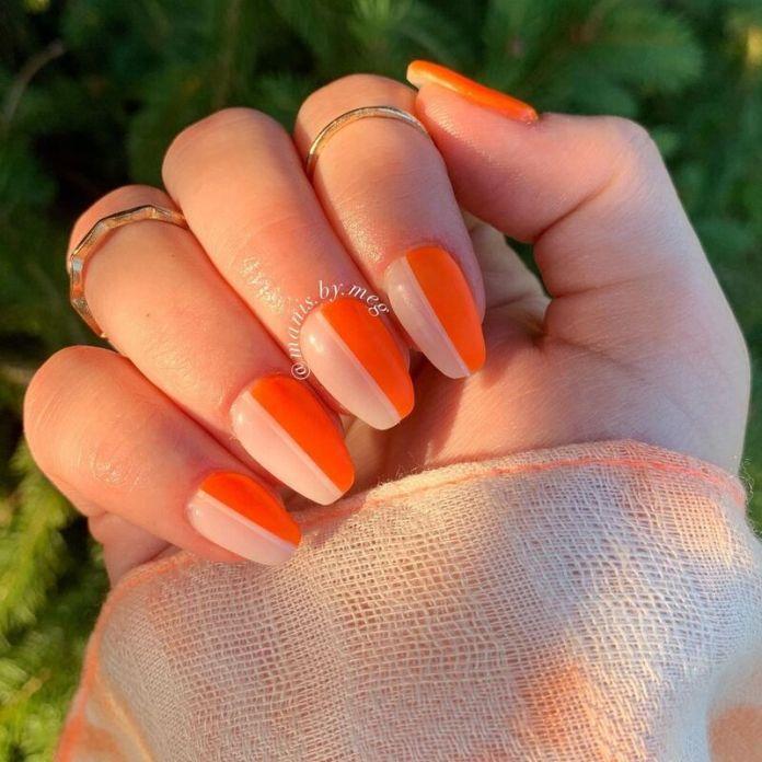 cliomakeup-color-block-nails-2021-corallo