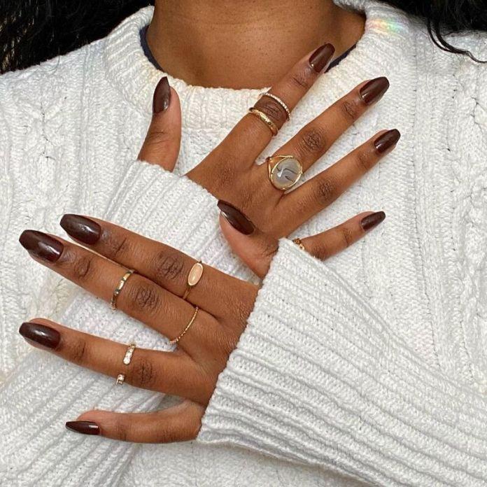 cliomakeup-dark-choco-nails-unghie-squadrate
