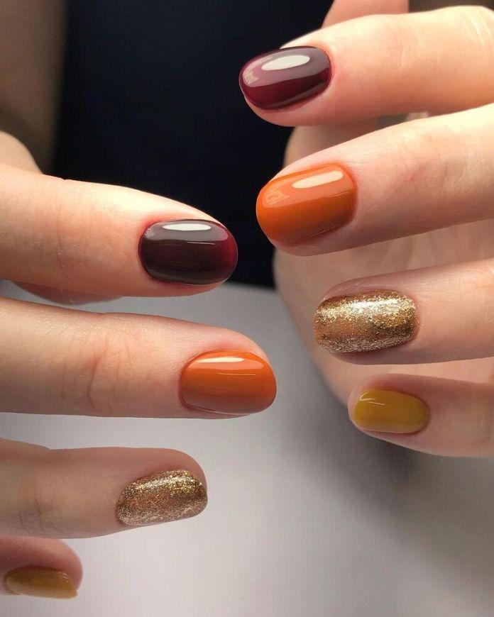 cliomakeup-pumpkin-nails-sfumature