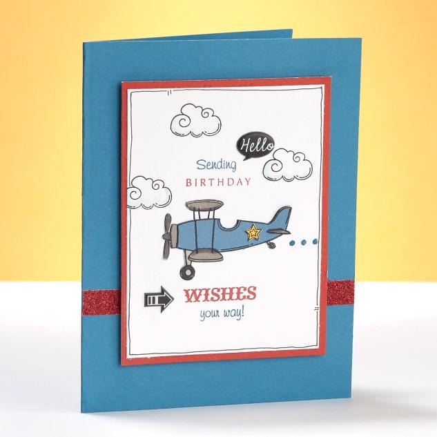 Plane Birthday Card
