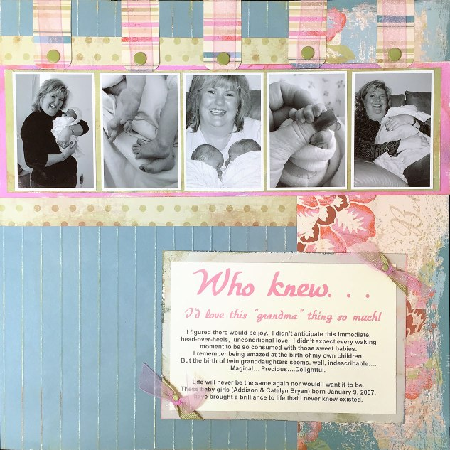 Who Knew page by Karen Morris