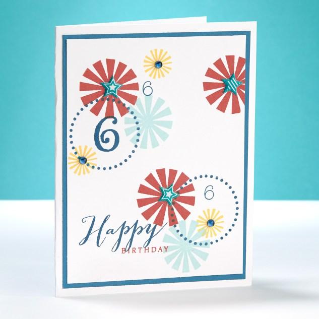 Happy Birthday 6 Card