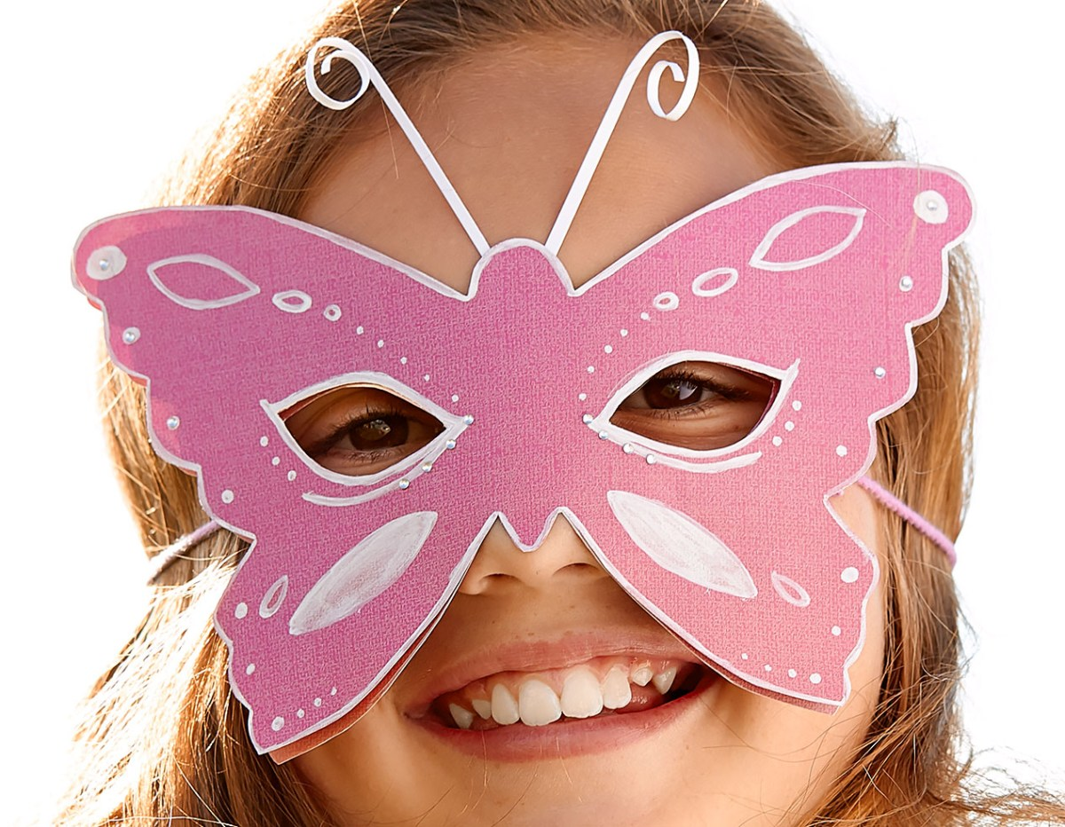 Costume party? Make your own mask! #ctmh #closetomyheart #halloweencrafts #diymask #childrenscostumes