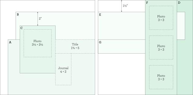 Free scrapbook pattern! #closetomyheart #ctmh #scrapbook #scrapbooking #pattern #craft #crafting #paper