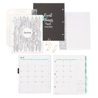 Coloring planner 2017 #ctmh #closetomyheart #2017planner #adultcoloringbook #coloringbook