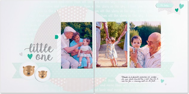 Quick scrapbooking kits—no cutting required! #closetomyheart #ctmh #cutabove #wedding #anniversary #love #baby