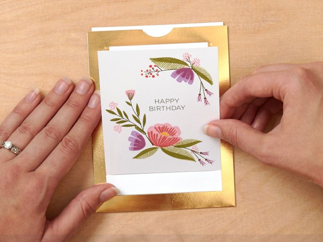 How to assemble the From the Heart cards by Close To My Heart #ctmh #closetomyheart #card #interactive #sliding #cardmaking #stamping