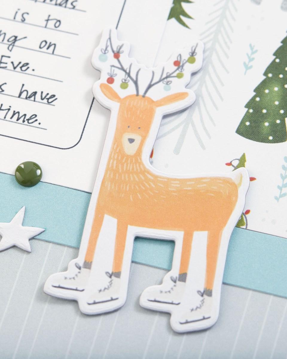 Christmas Album Inspiration #ctmh #closetomyheart #scrapbooking #Christmas #album #holiday #family #merry #ornament #reindeer #jolly #tree #wreath #holynight #presents #gifts #bearychristmas