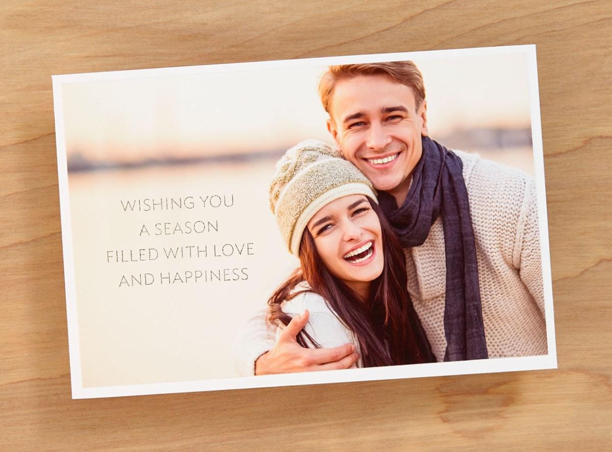 DIY Photo Card #ctmh #closetomyheart #season #love #happiness #Christmas #Holiday #photo #card