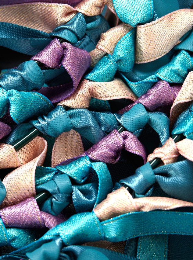 diy ribbon crafts #ctmh #closetomyheart #diy #ribbon #craft #project #Christmas #wreath #knots