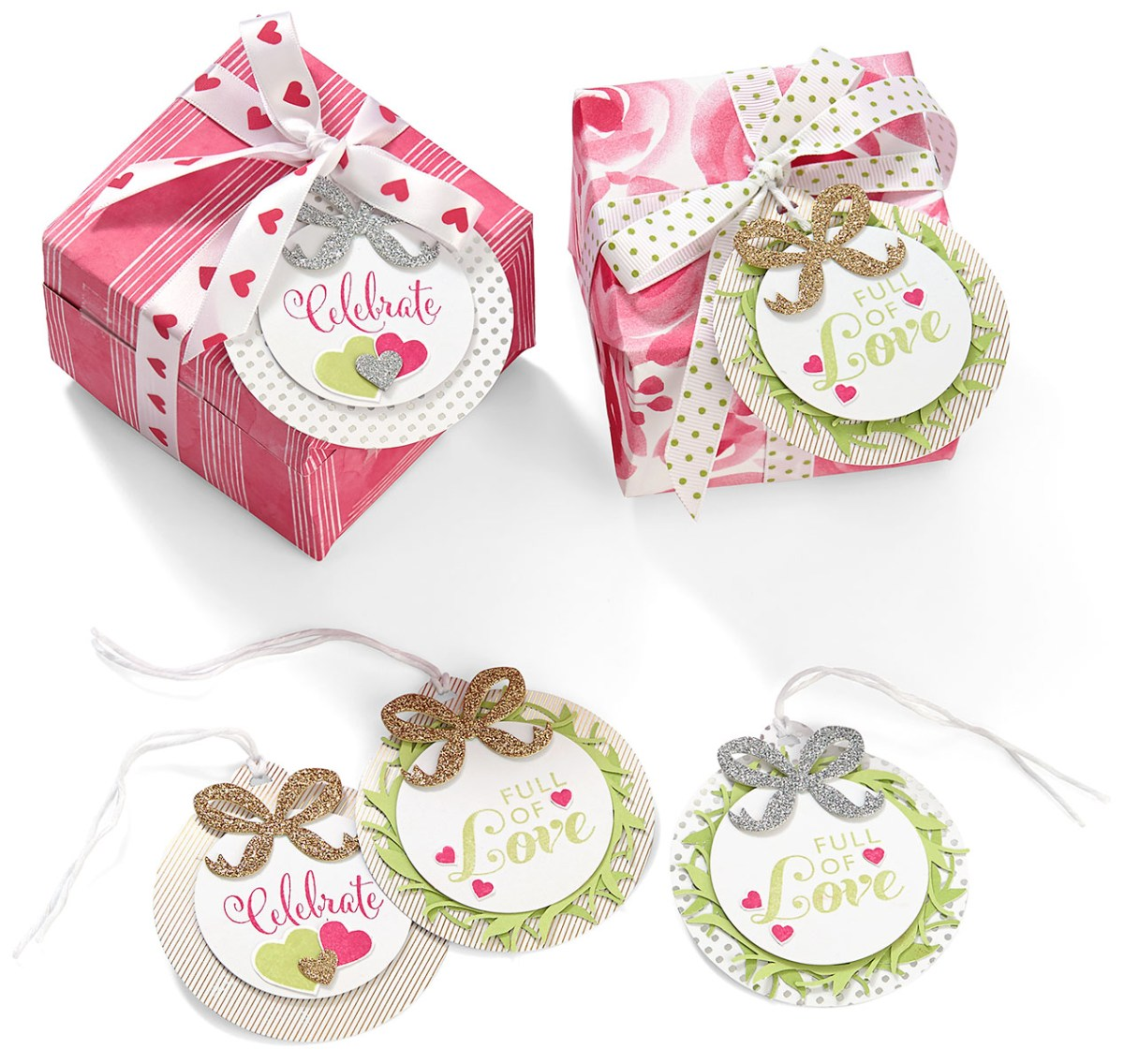 holiday favorites #ctmh #closetomyheart #diy #gift #present #tag #ribbon #bow #cutabove #celebrate #love
