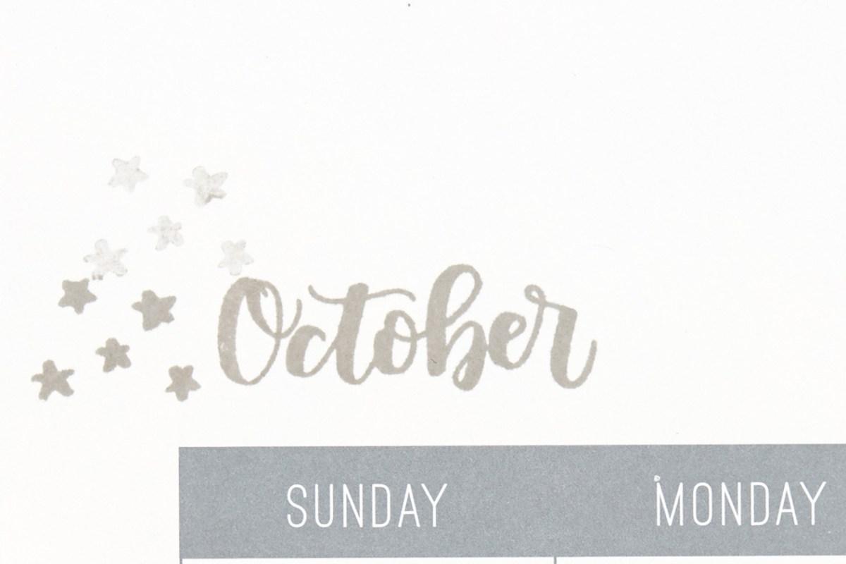 Through the Year #ctmh #closetomyheart #throughtheyear #stamp #November #stampofthemonth #sotm #calendar #kit #October #stars #night #sky