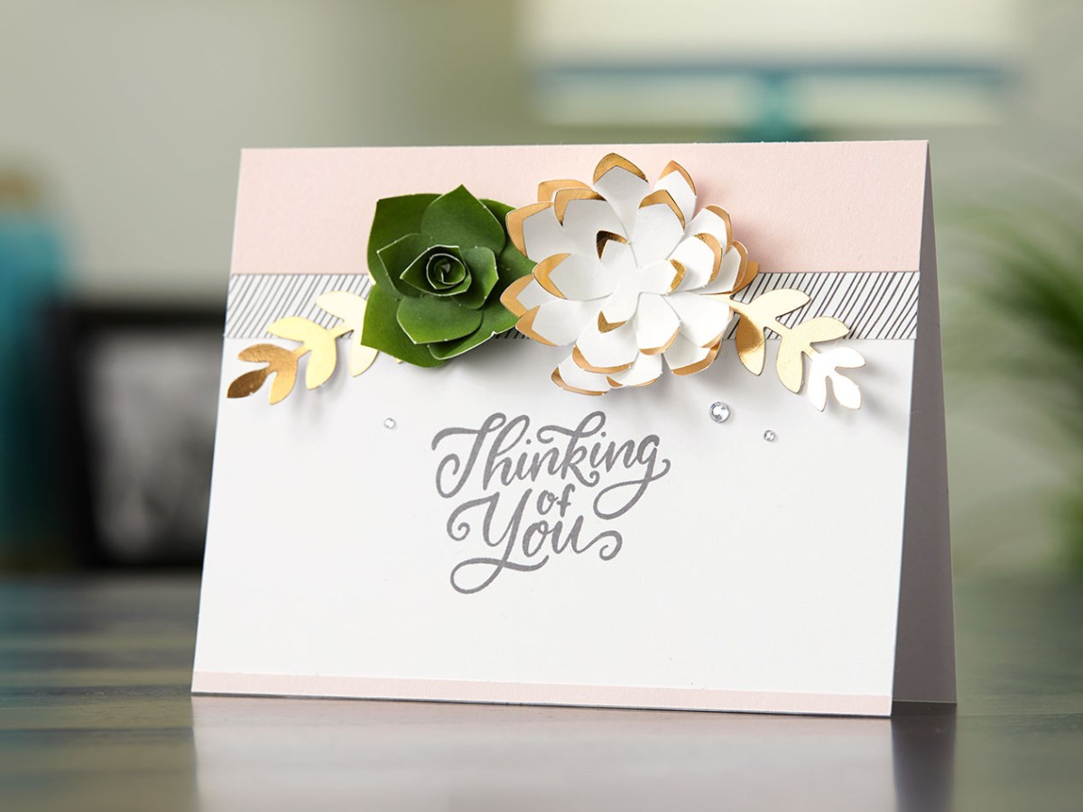 Love Letters #ctmh #closetomyheart #paper #crafting #papercrafting #national #month #diy #scrapbooking #layout #loveletters #love #letters #flowers #leftover #pieces #succulent #rose #gold #memorykeeping #cardmaking #card #thinkingofyou