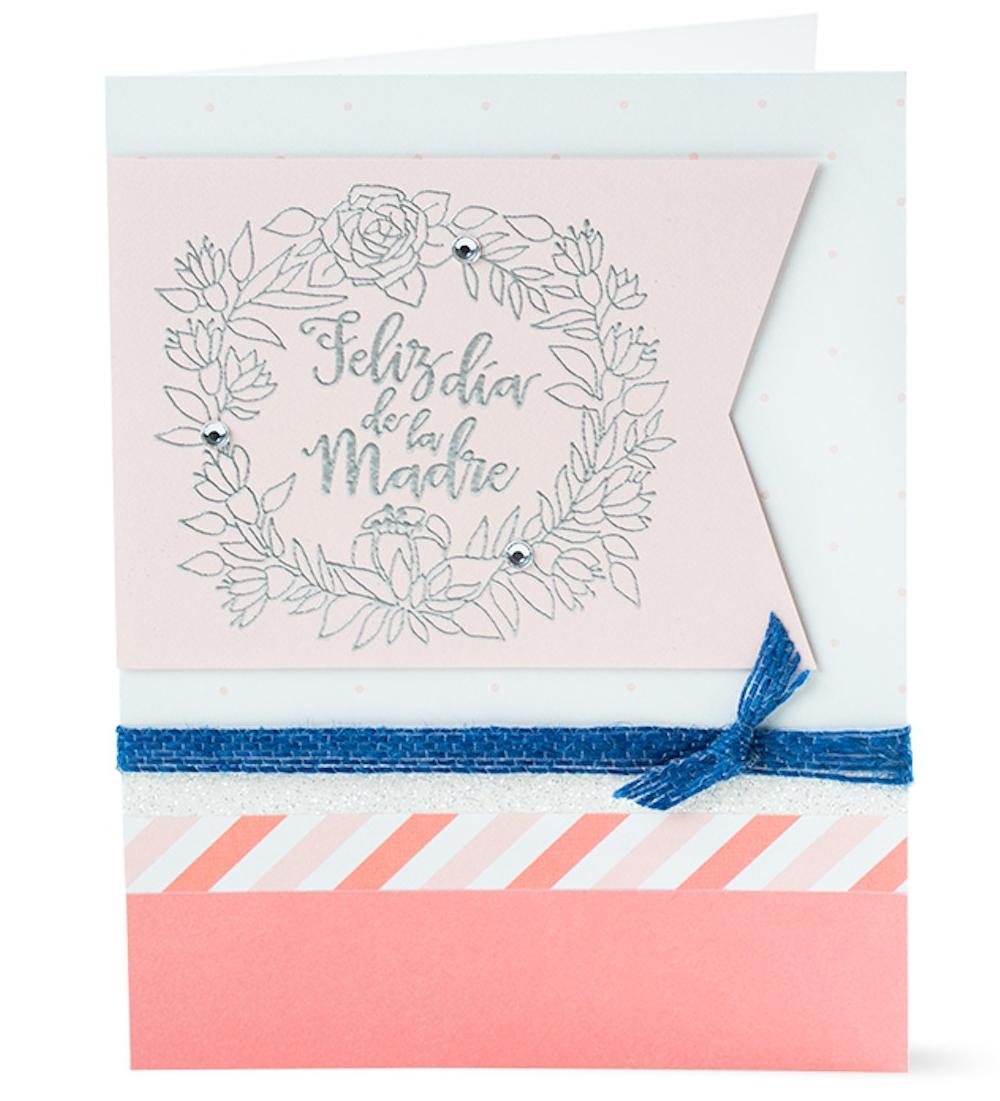 Free Card Pattern Three Ways #ctmh #closetomyheart #ctmhgimmesomesugar #gimmesomesugar #cards #diy #diycards #mothersday #freepattern #free #pattern #cardpattern #feliz #díadelamadre #diadelamadre #madre #mama #mamá #español #spanish