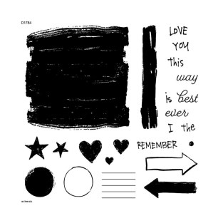 Stamping Story Starter #ctmh #closetomyheart #ctmhstacyjulian #ctmhxstacyjulian #ctmhstorystarter #stamping #quoteablewords #ctmhquoteablewords #colorfultextures #ctmhcolorfultextures #MyAcrylix #stamping #stampset #journaling #journalling #stacyjulian #minialbum #album #stories
