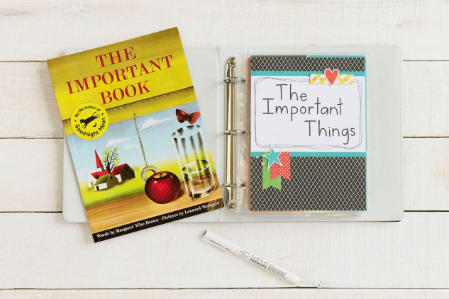 The Important Things #ctmh #closetomyheart #ctmhimportantthings #importantthings #everdaylife #minialbum #journaling #scrapbooking #theimportantbook #MargeretWiseBrown