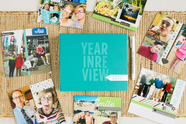 A Year In Review #ctmh #closetomyheart #storybystacy #stacyjulian #ctmhstacyjulian #yearinreview #scrapbooking #shortstoryalbum #shortstory