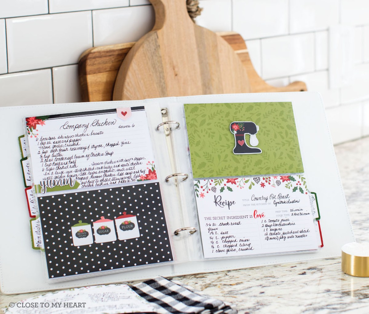 Last Call for Holiday Expressions #ctmh #closetomyheart #scrapbooking #cardmaking #papercrafting #diy #Christmas #holiday #recipebook #holidaykitchen