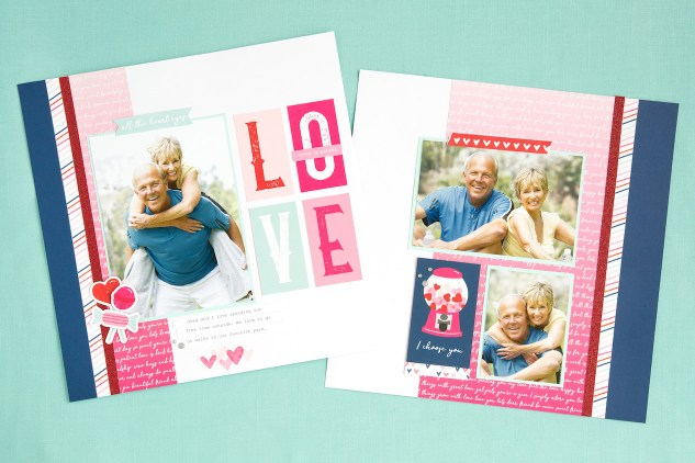 Heart Happy Workshop #ctmh #closetomyheart #ctmhhearthappy #valentine #valentine'sday #love #scrapbooking #scrapbook